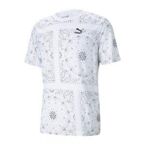 OB AOP T-SHIRT Bianco