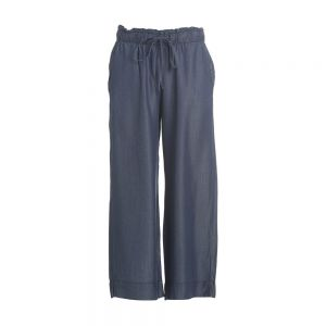 PANTALONE CROPPED DENIM Blu