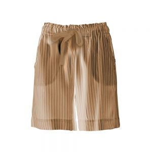 SHORTS IN TWILL GESSATO Marrone