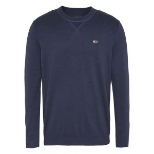 SLUB SWEATER Blu
