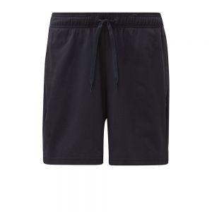 Short Essentials Linear Single Jersey Nero