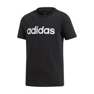 T-shirt Essentials Linear Logo Nero