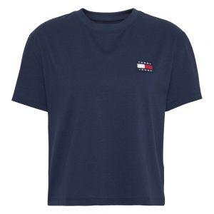 TOMMY BADGE T-SHIRT Blu