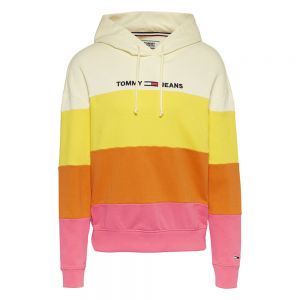 COLORBLOCK HOODY Rosa