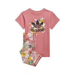 T-SHIRT DRESS SET Multicolor
