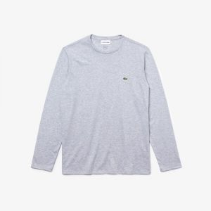 T-shirt manica lunga Grigio