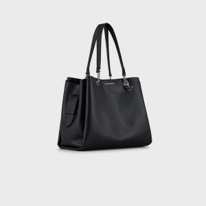 BORSA IN ECOPELLE Nero